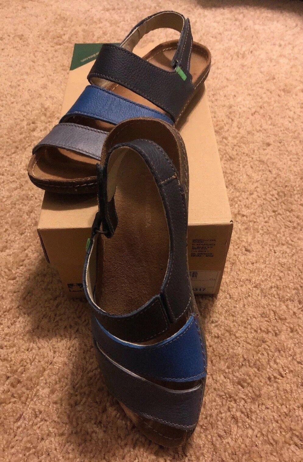El Natura Lista Azul Sandalia para mujer Talla Talla Talla 37  la mejor oferta de tienda online