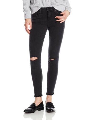 Joes Jeans Women Ivana Faded Black Boyfriend Trous