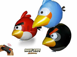 Air Swimmers Angry Birds  funkferngesteu<wbr/>ert im 3er Set  - Play and Fun !