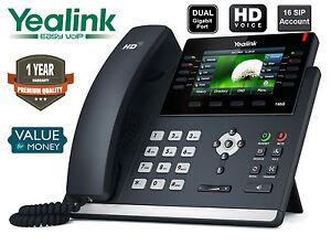 Yealink-SIP-T46G-IP-Phone-16-SIP-Ultra-Elegant-Gigabit-Colour-Display-IP-Phone