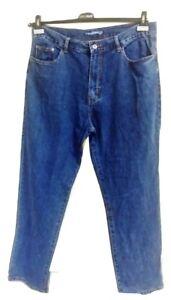 Pantalone uomo jeans taglia  56 denim blu scuro con inserto HOLIDAY