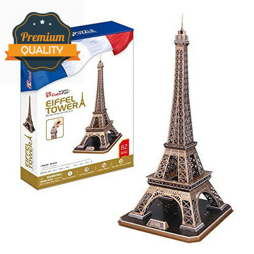 CubicFun 3D Puzzle  The Eiffel Tower - Paris