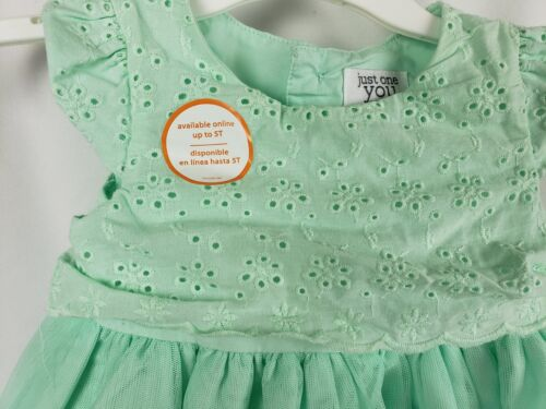 Just One You by Carter/'s Mint Green Girls/' Party Dress 2 Piece Set Size 9M New