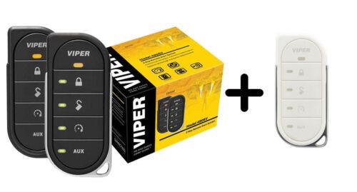 Viper 4806V 2 Way LED Remote Start System 1 Mi Range /& Replacement White Case