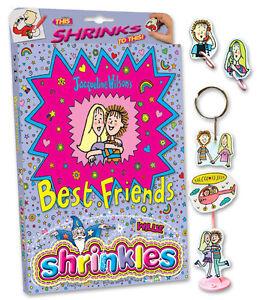23 Best Friends Décorations Shrinkles Shrinkie Art Pare-choc Coffret Cadeau