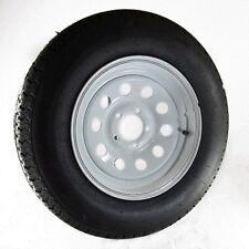 """Trailer Tire & Rim - 4.80 x 12 (B) 4-PLY With 5 x 4.5"""" lug Painted Wheel, Bias"""