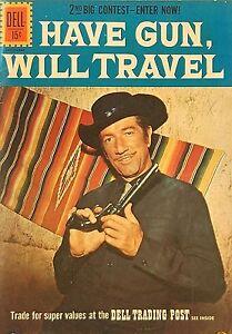 1961-Have-Gun-Will-Travel-Paladin-Richard-Boone-Original-Dell-Comic-Book