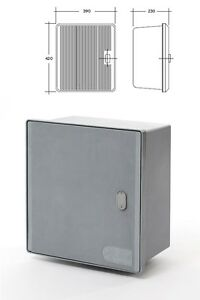 cassetta contenitore per contatore enel trifase 380v are