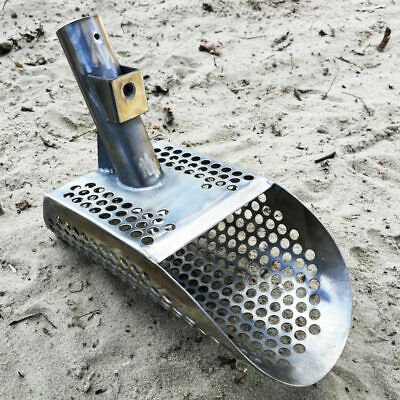 Metal Detector Sand Scoop SCOUT v2 Small Stainless Steel Hunting Detector Tool