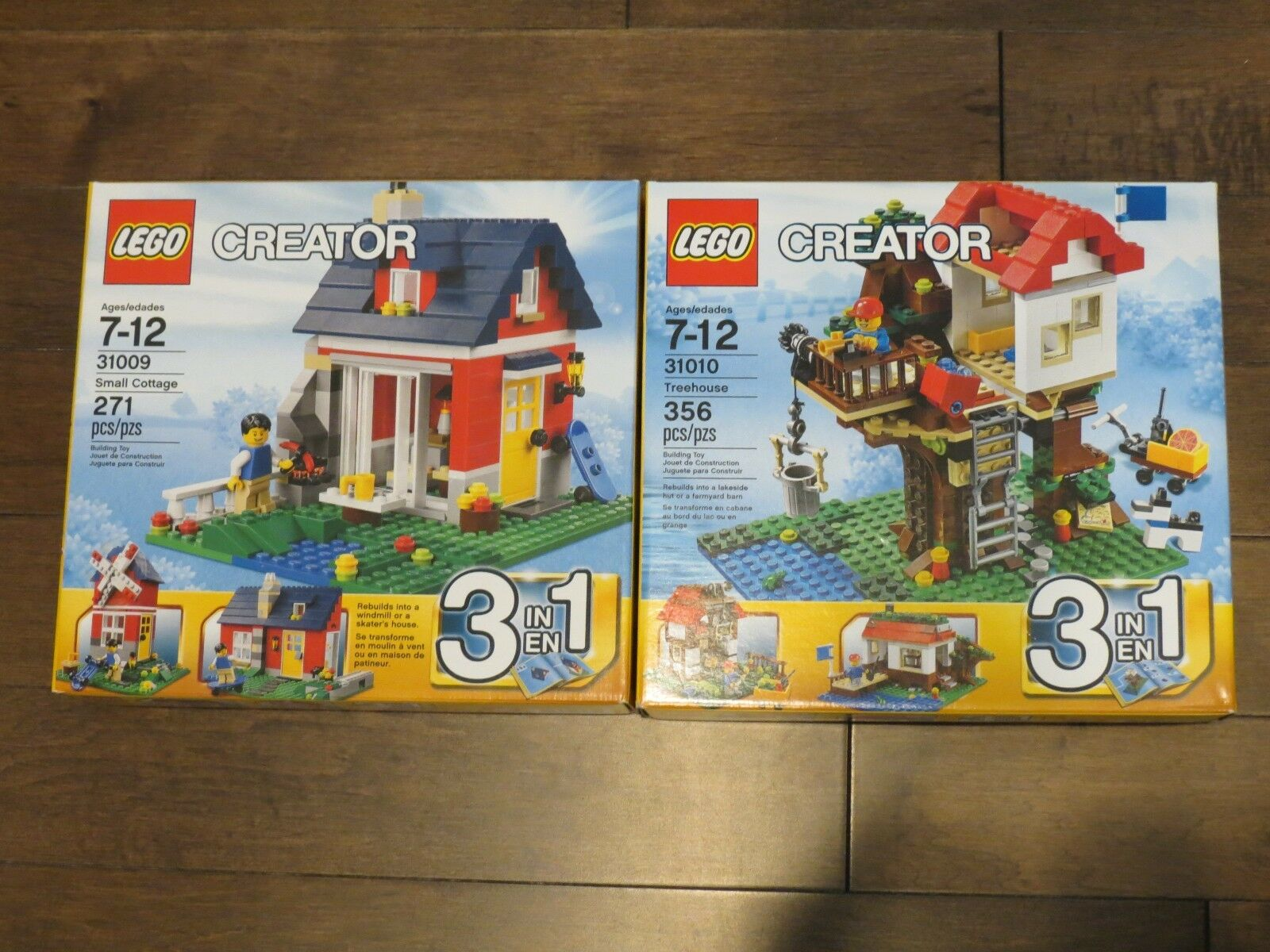 LEGO 31010 and 31009 Brand new   Sealed boxed