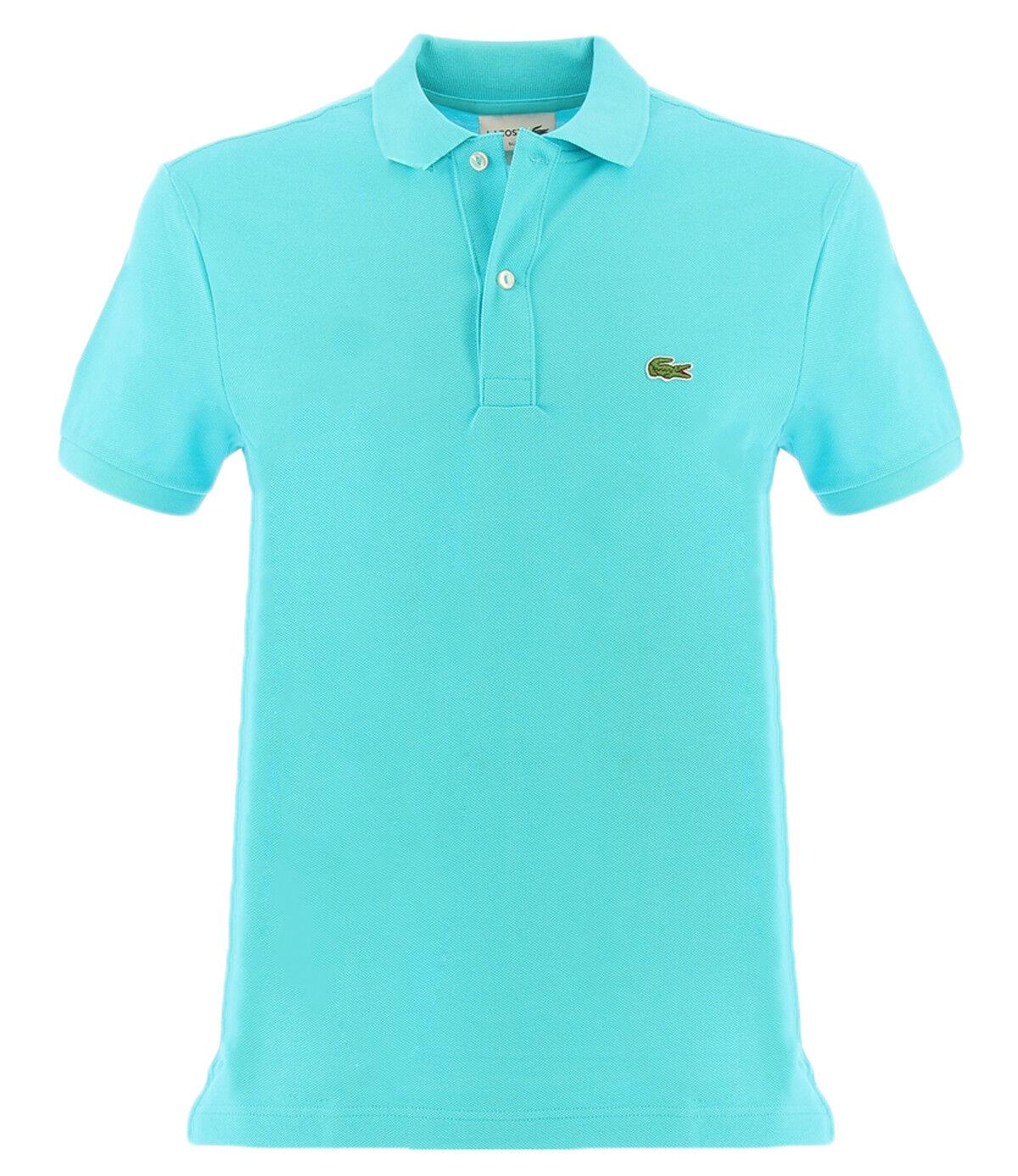 Lacoste Slim Fit Poloshirt, hellblue für Männer Lacoste 4012 SLIM FITXA4