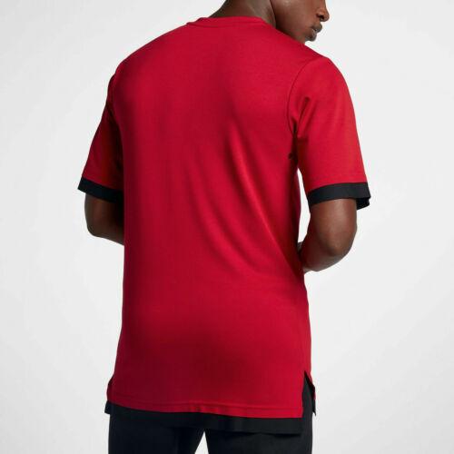 NIKE Jordan Sportswear Tech Men/'s Short Sleeve Top Red Size XXLT Tall 899788 687