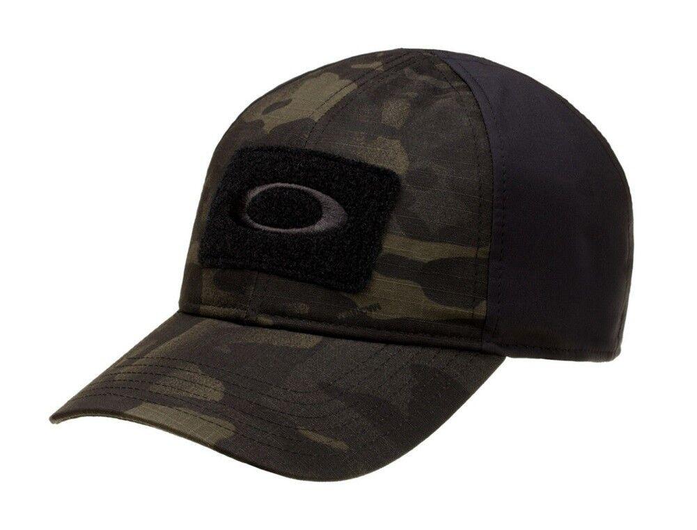 64a3054a OAKLEY 911630A SI Standard Issue Multicam® Black MC Tactical Morale Patch  Cap