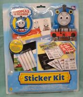 Thomas Train Friends Sticker Art Color Your Own Ages 3+ Stickers Markers Scratch