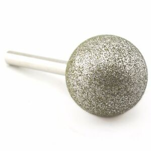 Details about 40mm Round Diamond Grinding Bits Ball Carving Burrs Lapidary  Tools for Gem Stone