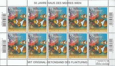 Stamps Austria 2694 Sheetlet Fine Used Cancelled 2007 Clownfische Elegant And Graceful
