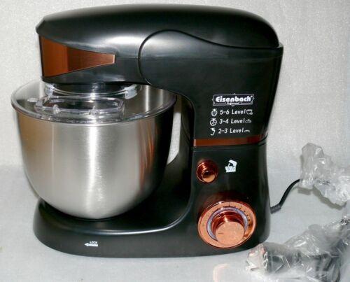 Eisenbach sc206 de cuisine touche pétrissage pâte machine PETRIN 2000 W 4,5 L Black Gold Ede