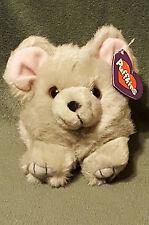 Swibco PUFFKINS Plush MURPHY Gray Mouse Pink Ears #6618 DOB 5-01-97 Bean Bag
