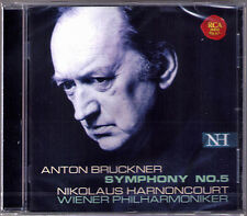 Nikolaus HARNONCOURT: BRUCKNER Symphony No.5 Live 2004 Wiener Philhamoniker CD
