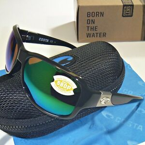49a9b33d8eb56 Image is loading Costa-Del-Mar-Inlet-Polarized-Sunglasses-Black-Green-