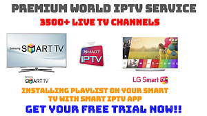 Details about 12 Months Smart IPTV for Samsung, LG & Sony Android Smart TV's
