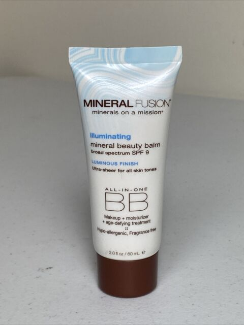 MINERAL FUSION All-In-One Mineral Beauty Balm Illuminating SPF9  2oz/60ml