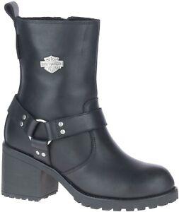 NEW Harley-Davidson Women's Waterproof Motorcycle Boots D84665 Size 6 Medium
