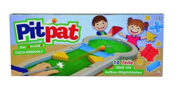 Simba 106064190 - Games & More, Pitpat Tisch Minigolf