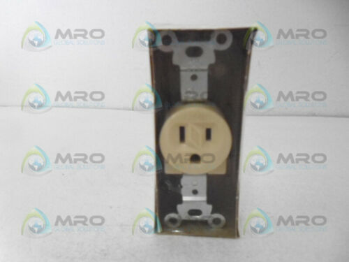 ARROW HART 5251 SINGLE RECEPTACLE 15A 125V *NEW IN ORIGINAL PACKAGING*