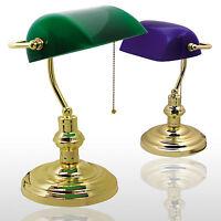 Bankers-Lamp, Bankerlampe, Bankerleuchte, Banken Lampe, Tischlampe