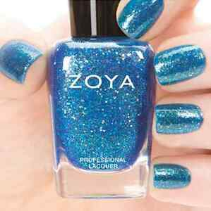 ZOYA-ZP737-MUSE-blue-raspberry-w-gold-holographic-jelly-nail-polish-BUBBLY-New