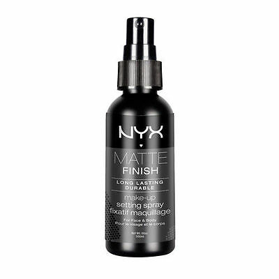 NYX  Matte Finish Long Lasting Makeup Setting Spray MSS01 Matte Finish 2.03 oz