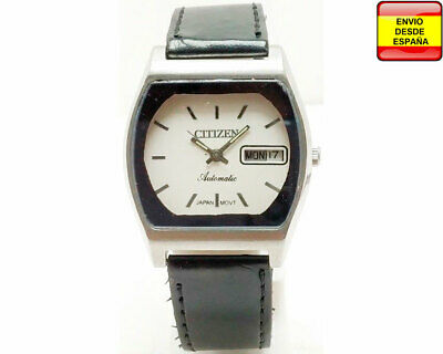 Reloj Citizen Automatic cuerda manual 21 Jewel blanco vintage | eBay