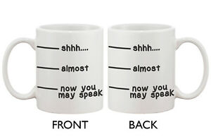 LIMITED-QUANTITY-WHOLSALE-PRICE-shhh-almost-speak-11oz-White-Ceramic-Mug-Cup