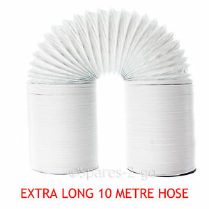 10 M Extra Fort Vent Tuyau Long Tuyau Pour Sèche-linge à Tambour Bush-afficher Le Titre D'origine Toujours Acheter Bien