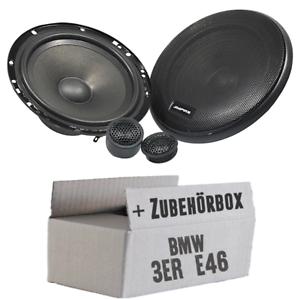 Ampire Lautsprecher für BMW 3er E46 Ablage hinten PKW KFZ Boxen Einbausatz