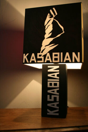 Handmade Kasabian Lamp empire Album Cover Lampshade Serge west ryder