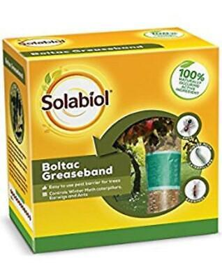 Nuovo Pack Bayer Boltac Bande Grasso Albero Da Frutto Protezione Da Insetti-