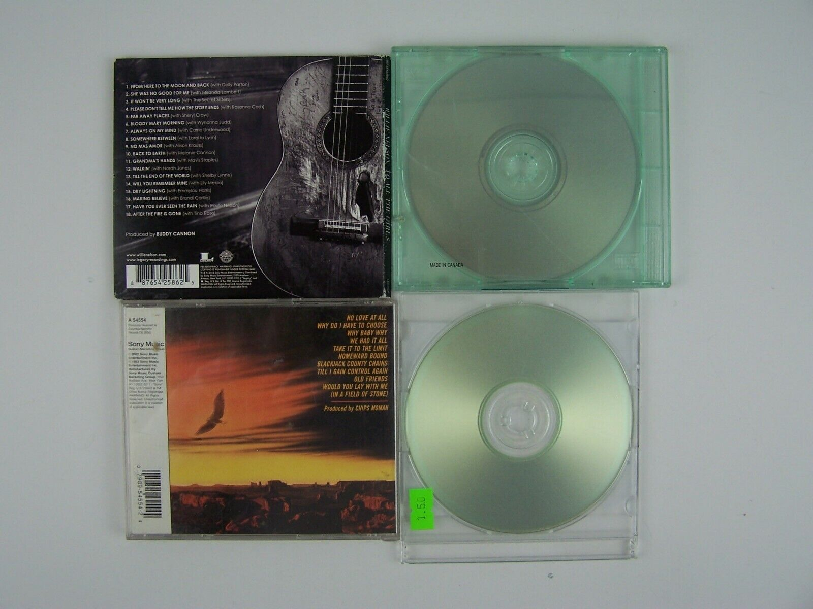 Willie Nelson Miscellaneous 4xCD Lot #2