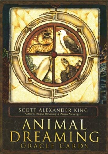 Animal Dreaming Oracle Set Deck Cards Wiccan Pagan Metaphysical