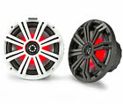 KICKER 45KM84L 8 Inch LED Coaxial Speakers