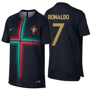 huge discount ab6d5 e3349 Details about NIKE CRISTIANO RONALDO PORTUGAL SQUAD YOUTH TRAINING JERSEY  WORLD CUP 2018.