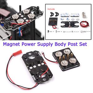 Magnet-Netzteil-Auto-Karosserie-Post-Kit-fuer-1-10-TRX4-RC4WD-UDR-D90-RC-Auto
