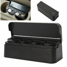 Black Car Dash Coin Holder Container Case Storage Box to store your change