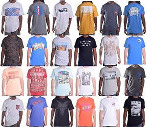 Vans-Men-039-s-Mix-Match-Custom-Tee-Shirt-Taille-Choisir-Style-amp-Couleur