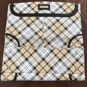 Miche-Bag-034-ALYSSA-034-Shell-Plaid-Beige-for-classic-bag-Cover
