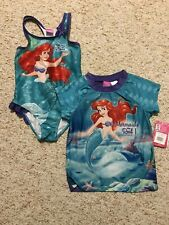 Blue Size 6//6X,10-12,14 NWT Carter/'s Cat Kitty Mermaid Flip Sequin Girls UPF 50