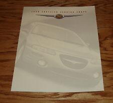 Original 1998 Chrysler Sebring Coupe Foldout Sales Brochure 98