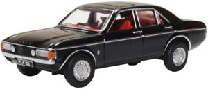 Oxford Diecast 76FC006 Ford Consul Granada Black OO Gauge