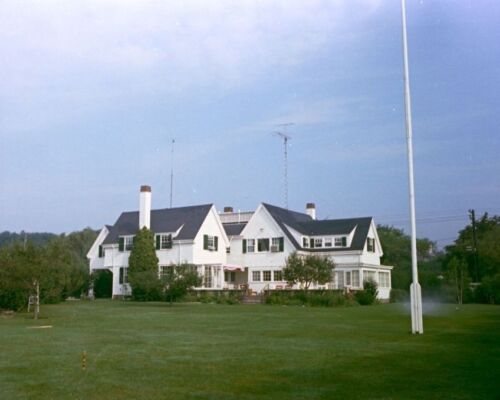 Home at Kennedy family compound in Hyannis Port Massachusetts JFK Photo Print